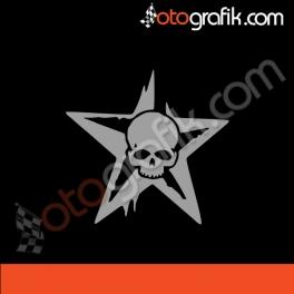 Kurukafa Yıldız Arma Oto Sticker