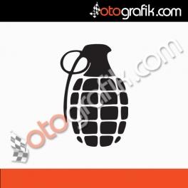 El Bombası Oto Sticker