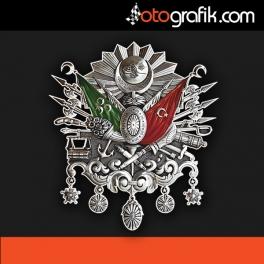 Osmanlı Arma Oto Sticker