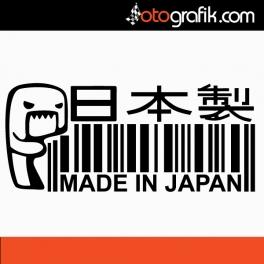 Domo Made in Japan Oto Sticker