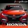 Honda Ön Cam Oto Sticker