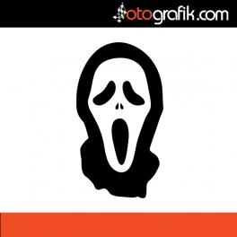 Scream Oto Sticker