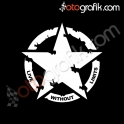 No Limit Army Star Offroad Oto Sticker