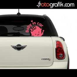 Baby in Car - Arabada Bebek Var Oto Sticker