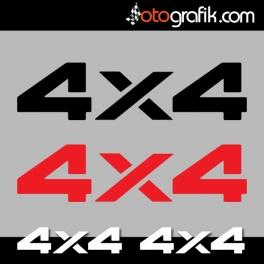 4x4 OFF005 Sticker Set
