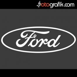 Ford Logo Sunroof Oto Sticker