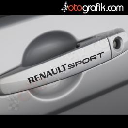 Renault Sport Kapı Kolu ve Jant Sticker Seti