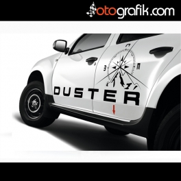 Dacia Duster Pusula Offroad Sticker
