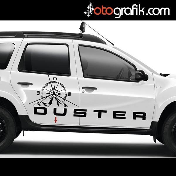 Dacia Duster Pusula Offroad Sticker Otografik