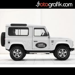 Land Rover Logo Oto Sticker