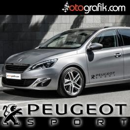 Peugeot Sport Oto Sticker Seti (Çift)