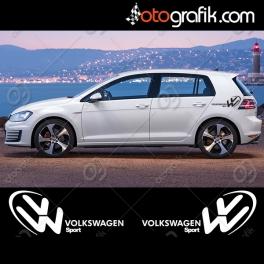 Volkswagen Sport Oto Sticker