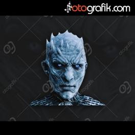 Game of Thrones Ak Gezen Oto Sticker
