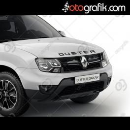 Dacia Duster Ön Kaput Oto Sticker
