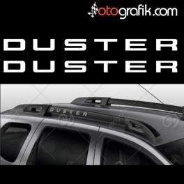 Dacia Duster Tavan Barı Oto Sticker Set