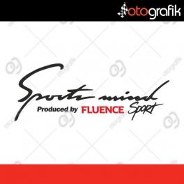 Renault Fluence Sports Mind Sticker