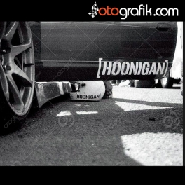 Hoonigan Oto Sticker