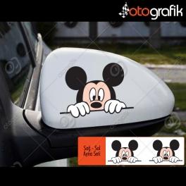 Miki Mouse Set Oto Sticker