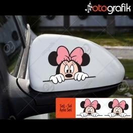 Mini Mouse Set Oto Sticker