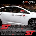ST Racing Oto Sticker Seti (Çift)