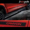 Volkswagen Amarok Canyon Yan Şerit Seti