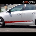 Chevrolet Cruze Oto Sticker Seti