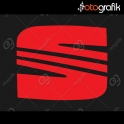Seat Logo Oto Sticker