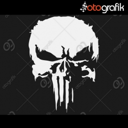 Punisher V2 Oto Sticker