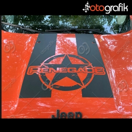 Jeep Renegade Army Star Kaput Sticker