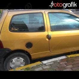 Renault Twingo Kapı Kolu, Depo Kapağı Sticker Set
