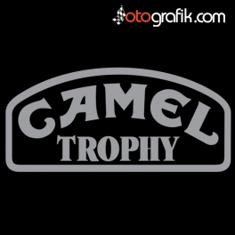 Camel Trophy Logo Oto Sticker Set
