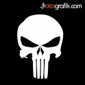 Punisher Oto Sticker
