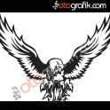Kartal V2 Oto Sticker