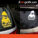 Baby on Board Oto Sticker