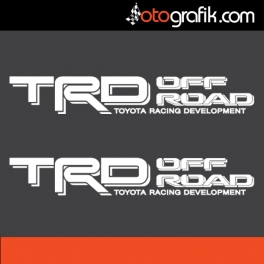 TRD Off Road Oto Sticker Set