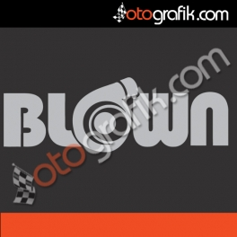 Blown Oto Sticker