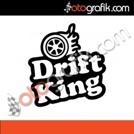 Drift King 2 Oto Sticker